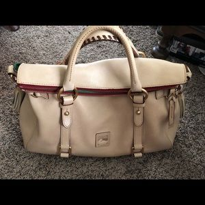 Dooney Florentine bone satchel